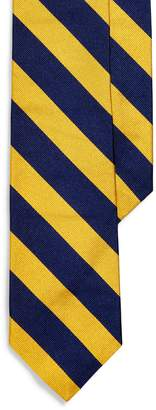 Ralph Lauren Striped Silk Twill Narrow Tie