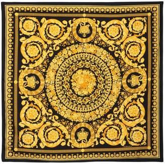 Versace Baroque Printed Silk Scarf