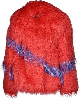 Dries Van Noten Short Length Furry Coat
