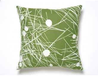 Amenity Pillow Trail Pillows - Cream And Moss