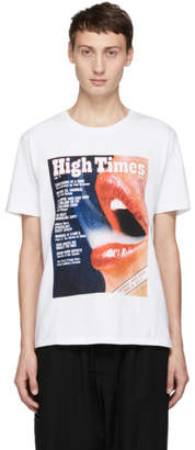 Wacko Maria White High Times Edition July 77 T-Shirt