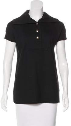 Marc by Marc Jacobs Short Sleeve Knit Top