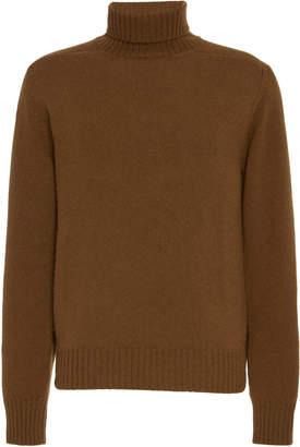 eidos Wool Ribbed Turtleneck Sweater Size: S