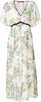 Max Mara botanic print dress