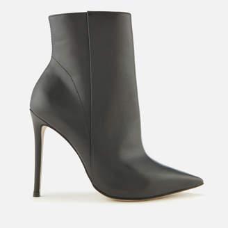 Carvela Women's Spectacular Leather Heeled Shoe Boots - Black