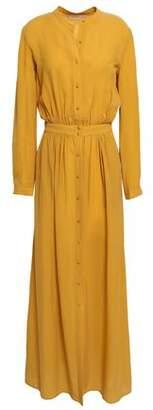 Vanessa Bruno Iris Textured-jacquard Maxi Shirt Dress