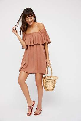 The Endless Summer Serefina Off-The-Shoulder Mini Dress