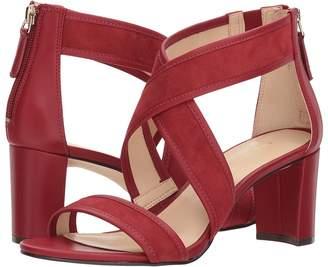 Nine West Pearlita Block Heel Sandal High Heels