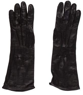 Prada Long Leather Gloves