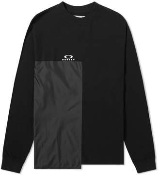 Oakley X Samuel Ross x Samuel Ross Long Sleeve Multi Fabric Logo Tee