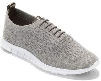 Cole Haan ZeroGrand Stitchlite Wool Lace Up Sneaker