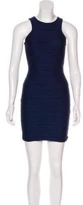 Nicholas Sleeveless Mini Bodycon Dress
