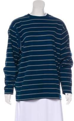 Patagonia Long Sleeve Striped Sweatshirt