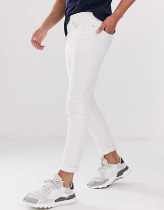 New Look skinny jeans in white