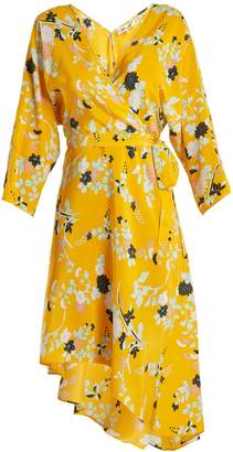 Diane von Furstenberg Eloise silk wrap dress