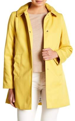 Kate Spade Scallop Detail Trench Coat
