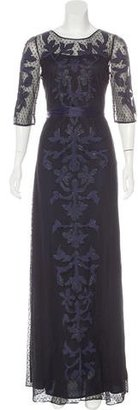 Alice by Temperley Embroidered Mesh Gown w/ Tags $295 thestylecure.com