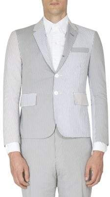 Thom Browne Striped Cotton Jacket