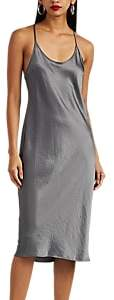 Alexander Wang Women's Satin Slipdress - Gray