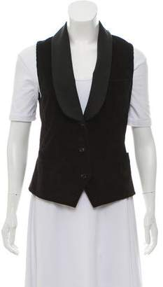 Dolce & Gabbana Double-Breasted Corduroy Vest