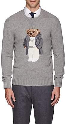 Ralph Lauren Purple Label Men's Teddy Bear Cashmere Crewneck Sweater