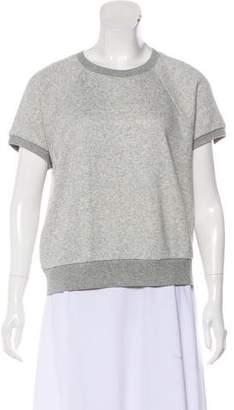 Rag & Bone Short Sleeve Sweatshirt