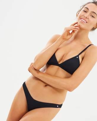 All About Eve Rib High Cut Bikini Bottoms