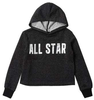 Converse Cropped Hoodie (Big Girls)