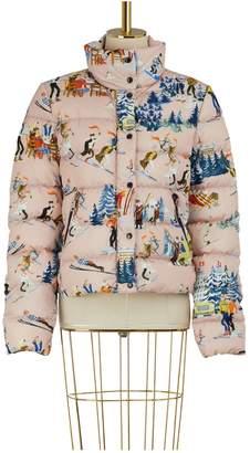 Moncler Clairette printed down jacket