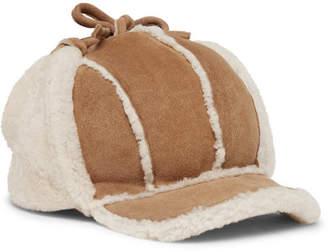 Gucci Shearling Trapper Hat - Men - Tan