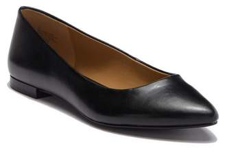 14th & Union Rowen Faux Leather Pointed Toe Flat