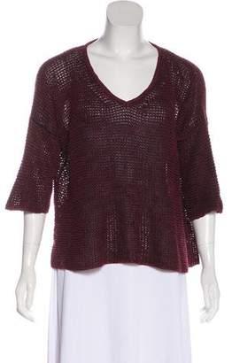 Isabel Marant Linen-Blend Knit Sweater