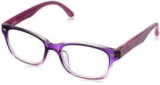 Foster Grant Women's Cully 1017546-175.COM Wayfarer Reading Glasses