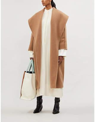 Max Mara Fretty oversized relaxed-fit wool coat