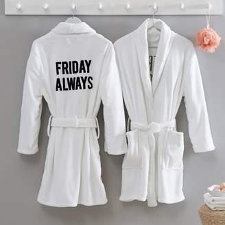Pottery Barn Teen Friday Always Robe, White