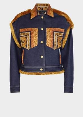 Versace Signature Wild Denim Jacket