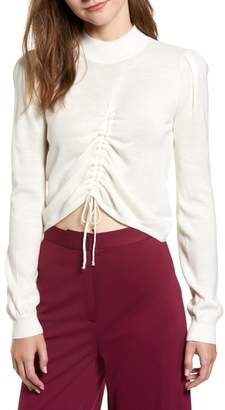 CHRISELLE LIM COLLECTION Chriselle Lim Madison Ruched Sweater