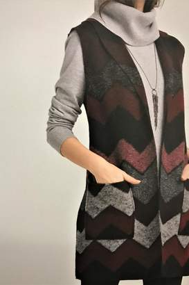 Tribal Shawl Collar Vest