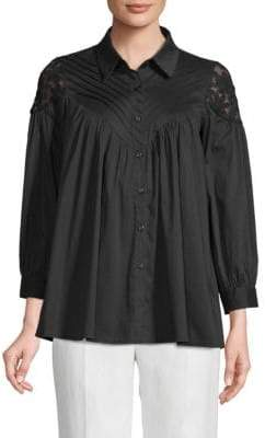 Lumie Pleated Yoke Blouse