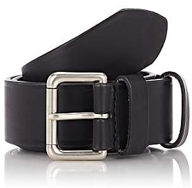 Felisi MEN'S NUMBERED LEATHER BELT-BLACK SIZE 34