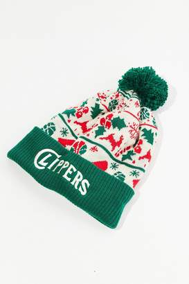 Mitchell & Ness NBA Team Holiday Sweater Beanie