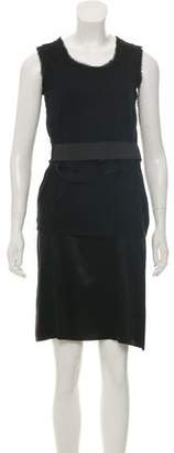 Lanvin Sleeveless Bow-Accented Dress