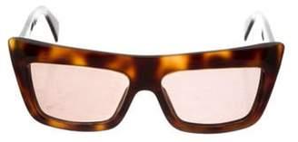 Celine Tinted Square Sunglasses Brown Tinted Square Sunglasses