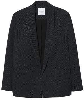 Violeta BY MANGO Structured textured blazer