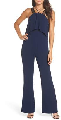 Harlyn Lace Strap Popover Bodice Jumpsuit