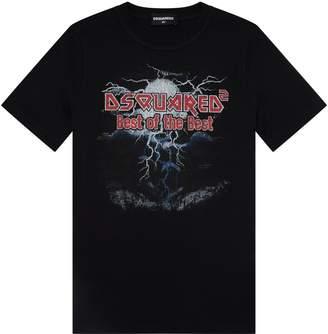 DSQUARED2 Logo Band T-Shirt