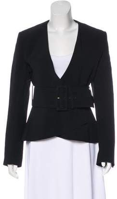 Celine Belted Peplum Jacket w/ Tags