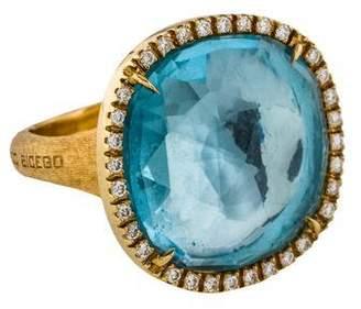 Marco Bicego Jaipur Topaz & Diamond Ring
