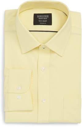 Nordstrom Tech-Smart Traditional Fit Stretch Pinpoint Dress Shirt