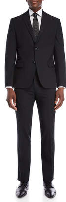 Michael Kors Two-Piece Black Slim Fit Suit